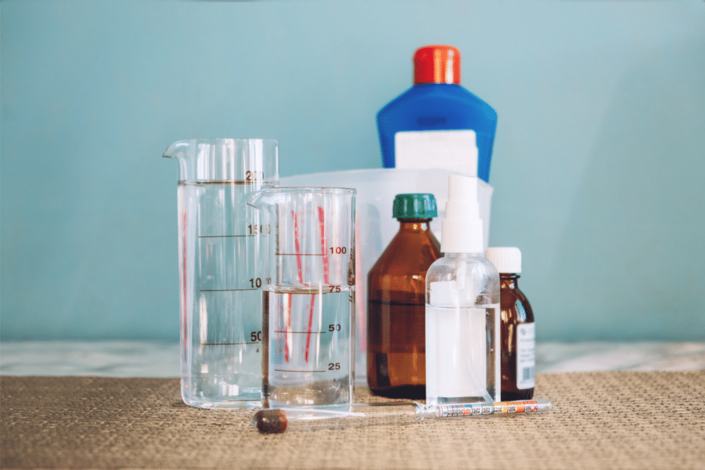 Cleaning and Disinfecting with Hydrogen Peroxide